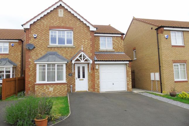 Thumbnail Detached house for sale in Cottingham Grove, Thornley, Durham