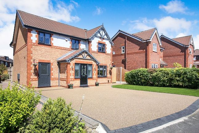 Thumbnail Detached house for sale in Three Acres Drive, South Reddish, Stockport