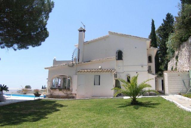 Villa Side View of Spain, Málaga, Mijas