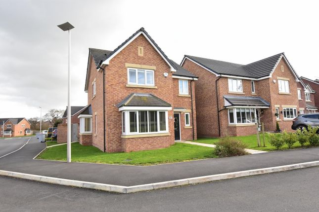 Thumbnail Detached house for sale in Williams Drive, Shavington, Crewe