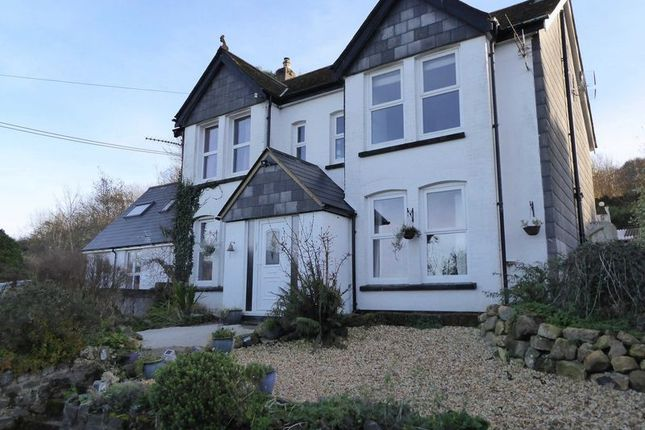 Thumbnail Detached house for sale in Klondyke Road, Okehampton