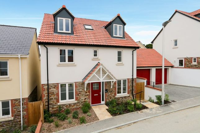Thumbnail Detached house for sale in Mountford Drive, Bovey Tracey, Newton Abbot