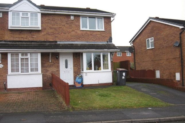 Thumbnail Semi-detached house to rent in Whitebeam Close, The Rock, Telford