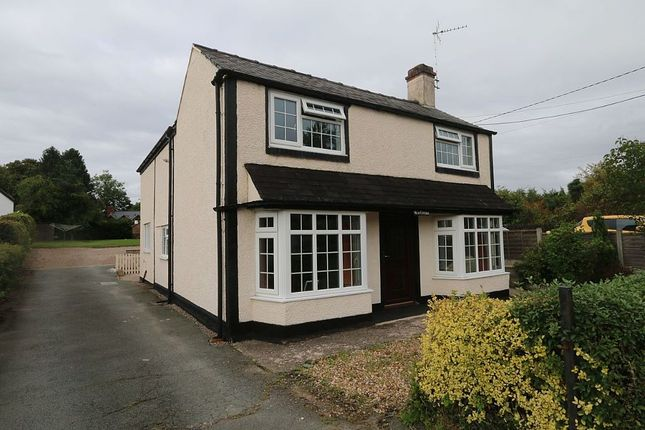 Thumbnail Detached house for sale in Ellesmere Road, St. Martins, Oswestry, Shropshire