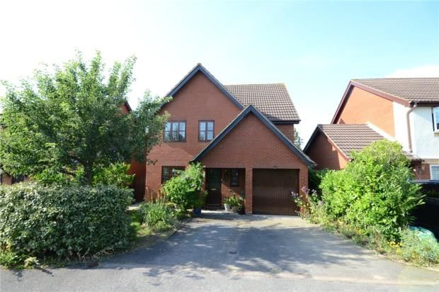 Thumbnail Detached house for sale in Surrey Court, Warfield, Bracknell