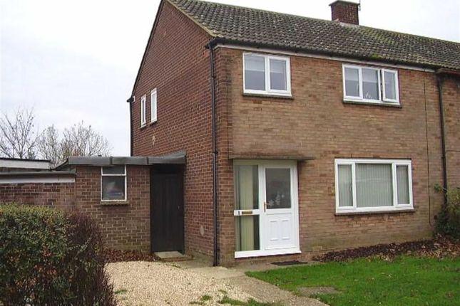 Thumbnail Semi-detached house to rent in Derwent Drive, Bletchley, Milton Keynes