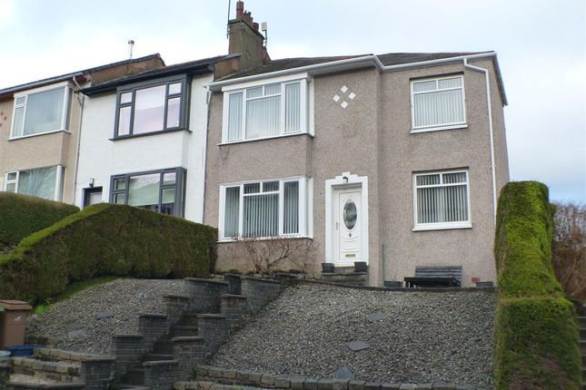 4 bed end terrace house for sale in Cromarty Gardens, Stamperland, Glasgow