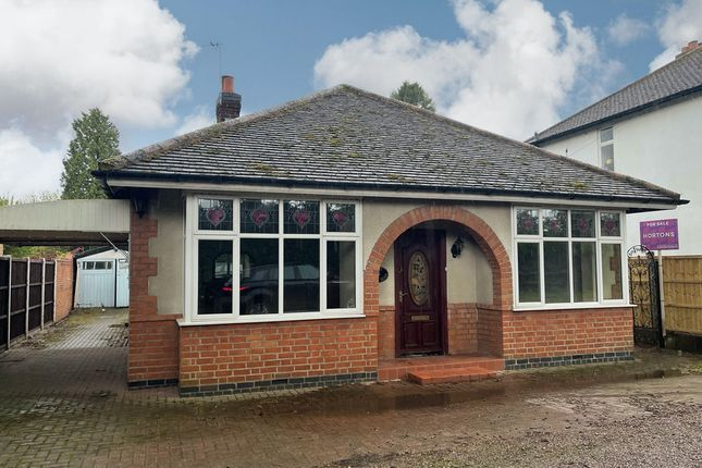 Thumbnail Bungalow for sale in Forest Road, Leicestershire, Quorn