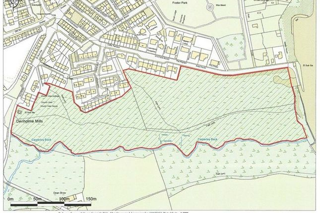 Thumbnail Land for sale in Station Road, Denholme, Bradford, West Yorkshire