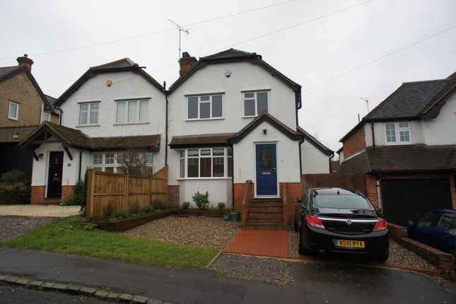 Thumbnail Semi-detached house to rent in Cromwell Road, Henley-On-Thames