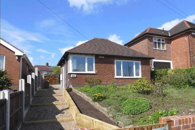Thumbnail Detached bungalow to rent in Derby Road, Ilkeston, Derbyshire