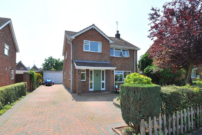 Thumbnail Detached house for sale in St. Judiths Lane, Sawtry, Huntingdon