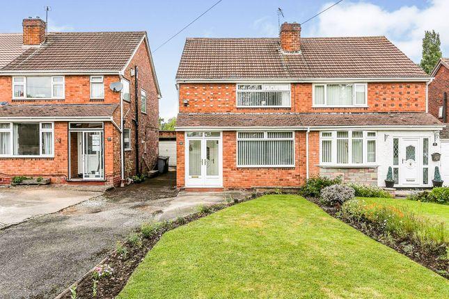 Thumbnail Semi-detached house for sale in Eileen Gardens, Kingshurst, Birmingham