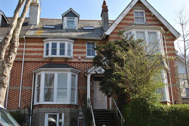 Thumbnail Flat to rent in Alexandra Road, Penzance, Cornwall