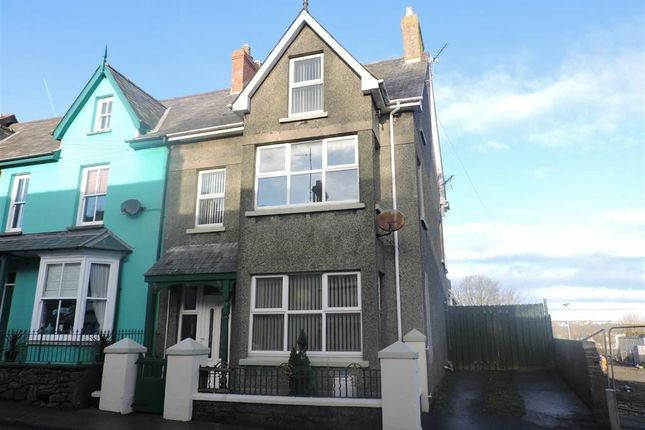 Thumbnail End terrace house for sale in High Street, Fishguard