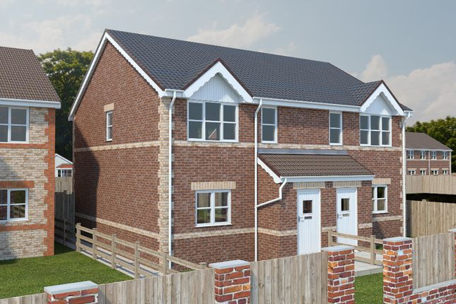 Thumbnail Semi-detached house for sale in Chesterfield Road, North Wingfield, Chesterfield