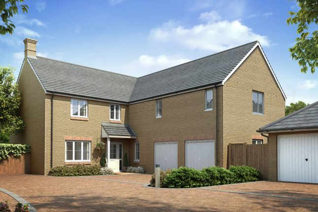 Thumbnail Detached house for sale in Bracken Road, Surfleet, Spalding
