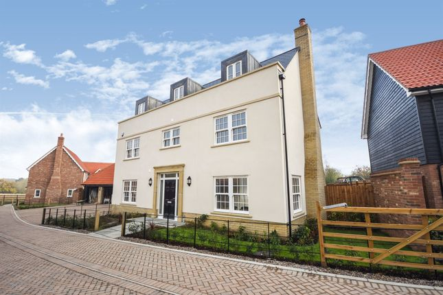 Thumbnail Detached house for sale in Rainbird Place, Coxtie Green Road, Pilgrims Hatch, Brentwood