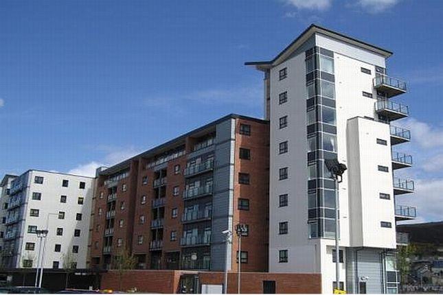 Thumbnail Flat to rent in Altamar, Kings Road, Marina, Swansea, West Glamorgan.