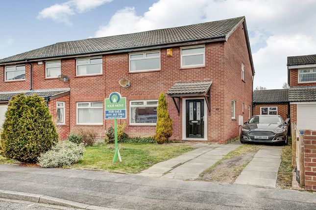 Thumbnail Semi-detached house for sale in Agricola Gardens, Wallsend
