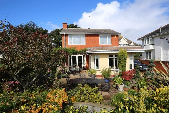 Thumbnail Detached house for sale in Drakes Avenue, Exmouth
