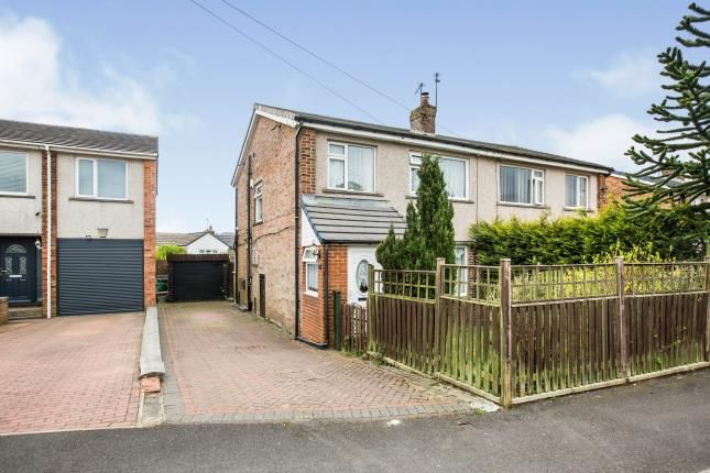 Thumbnail Semi-detached house for sale in The Fairway, Halifax, West Yorkshire