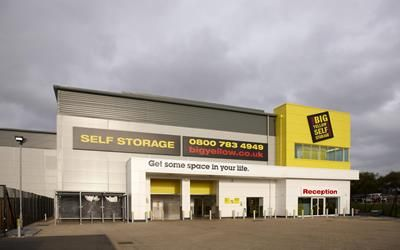 Thumbnail Warehouse to let in Big Yellow Self Storage Edinburgh, 2 Bankhead Avenue, Sighthill, Edinburgh