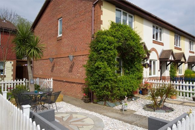 Thumbnail 2 bed semi-detached house for sale in Stag Close, New Milton, Hampshire