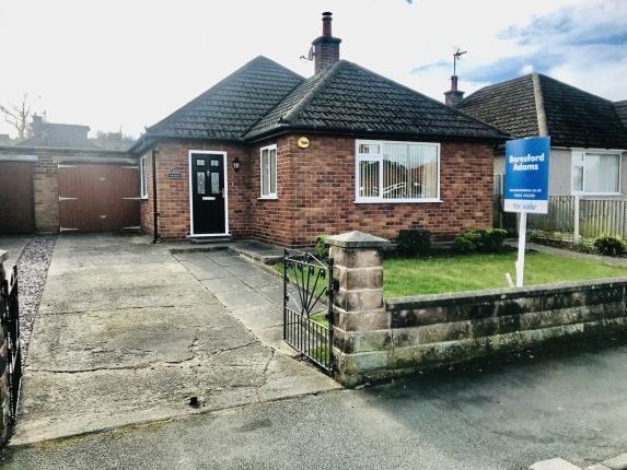 Thumbnail Bungalow for sale in Braeside Avenue, Hawarden, Deeside, Flintshire