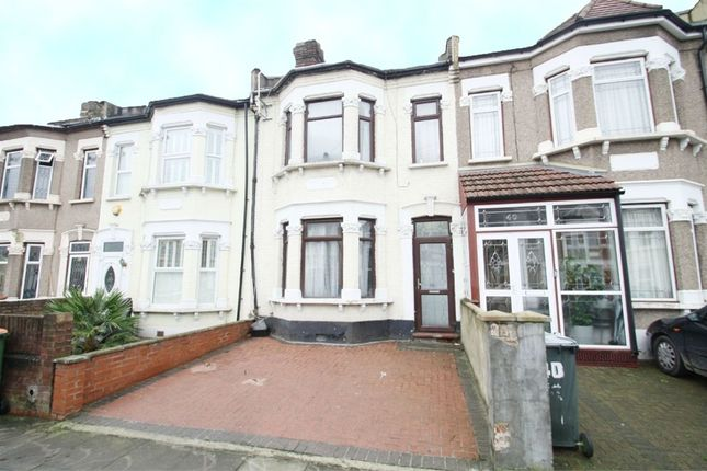 Thumbnail Terraced house for sale in Victoria Avenue, East Ham, London