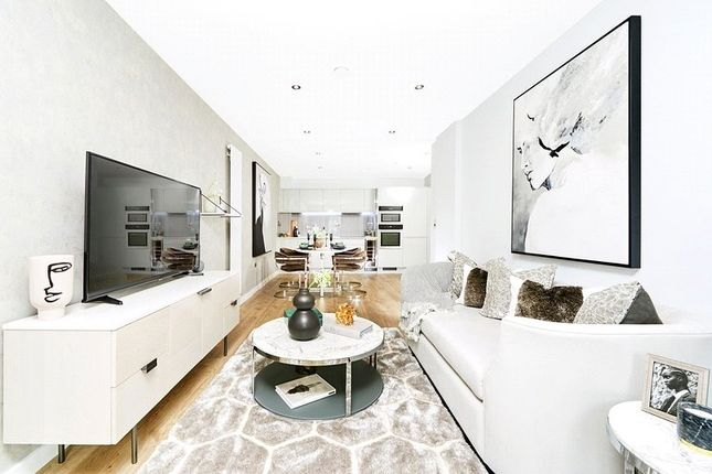 Living Area of Mode, Centric Close, Oval Road, Camden NW1