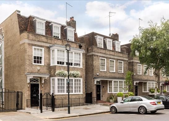 Thumbnail Terraced house for sale in Radnor Place, Hyde Park, London