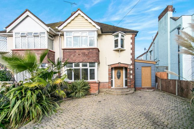 Thumbnail Semi-detached house to rent in Carnarvon Road, Clacton-On-Sea