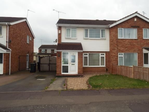 Thumbnail Semi-detached house for sale in Garth Crescent, Binley, Coventry, West Midlands