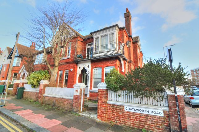 Thumbnail Maisonette for sale in Chatsworth Road, Brighton