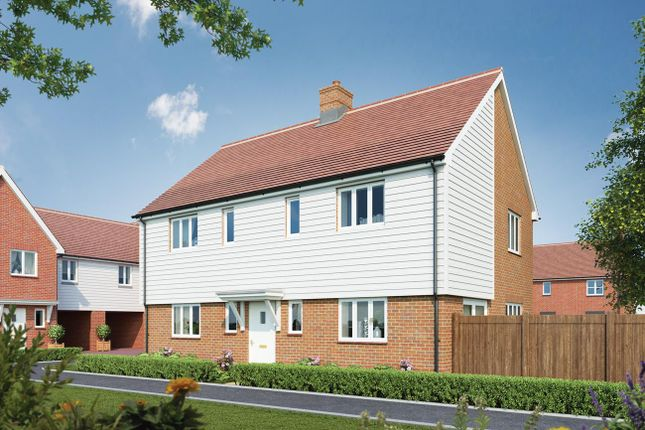 Thumbnail Detached house for sale in Canalside View, Broughton, Aylesbury