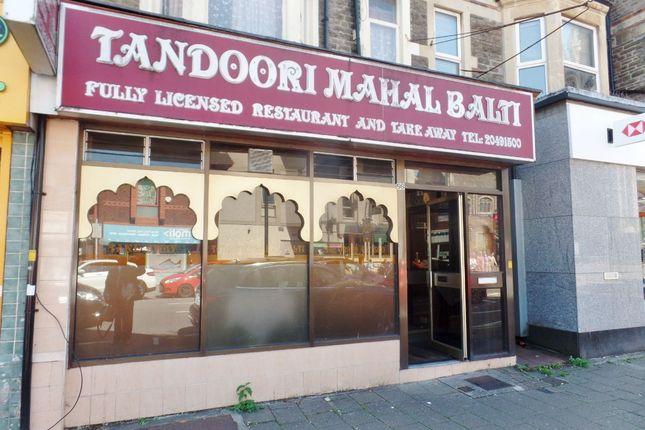 Thumbnail Restaurant/cafe to let in Tandoori Mahal Balti, Albany Road, Cardiff