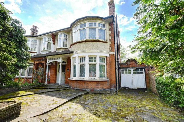 Thumbnail Semi-detached house for sale in Broomfield Lane, Palmers Green