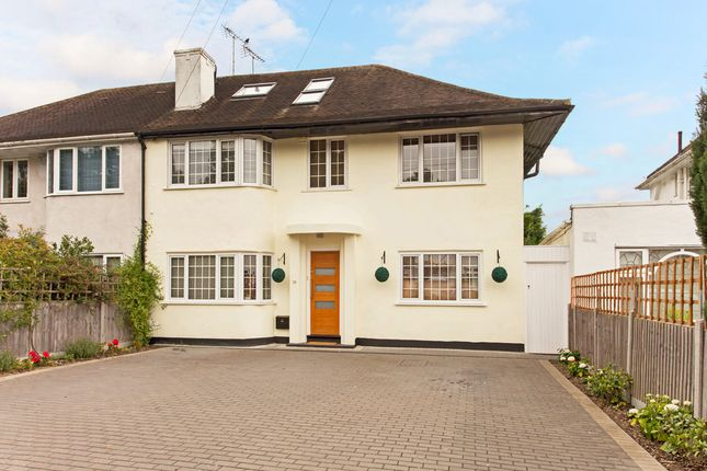 Thumbnail Semi-detached house for sale in Robin Hood Lane, Kingston Vale, London