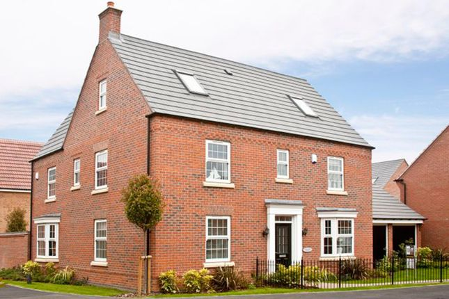 "Thumbnail Detached house for sale in ""Morecroft"" at St. Benedicts Way, Ryhope, Sunderland"