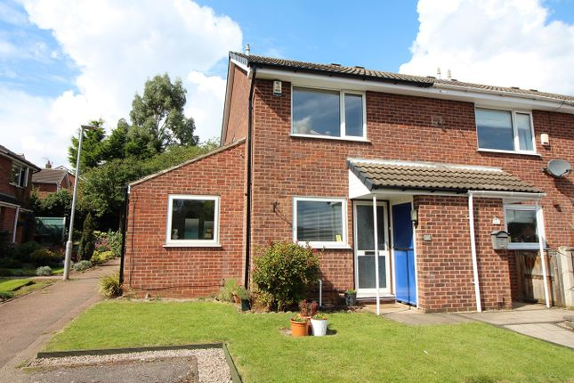 Thumbnail End terrace house for sale in Roxton Court, Kimberley, Nottingham