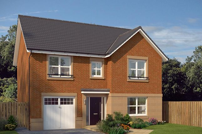 "Thumbnail Detached house for sale in ""The Norbury"" at Edinburgh Road, Newhouse, Motherwell"