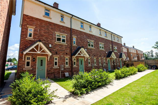 Thumbnail Town house for sale in Whittingham Place, Broughton, Preston