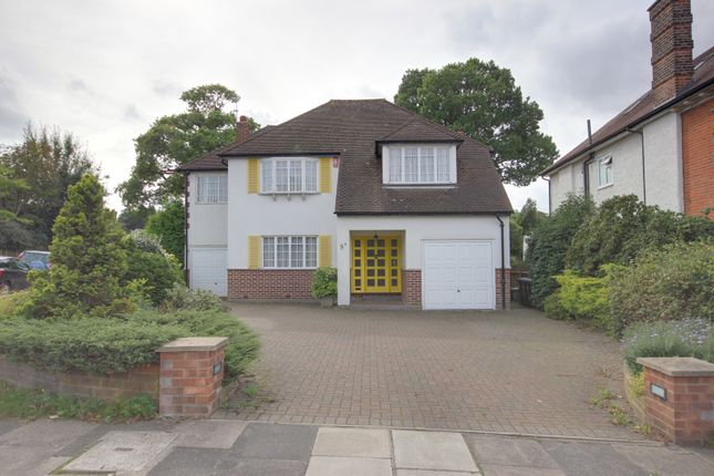 Thumbnail Detached house for sale in Branscombe Gardens, Winchmore Hill