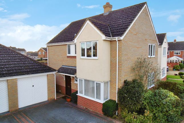 Thumbnail Detached house for sale in Bickerdikes Gardens, Sandy