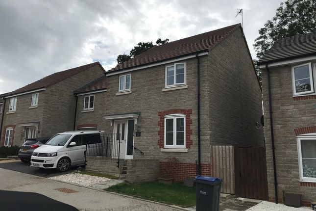 Thumbnail Link-detached house to rent in Mill View, Swindon