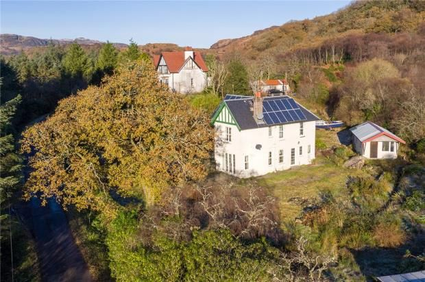 Thumbnail Detached house for sale in Tobar, Colintraive, Argyll And Bute