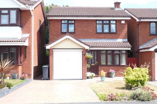 Thumbnail Detached house for sale in Lochalsh Grove, Willenhall, Willenhall