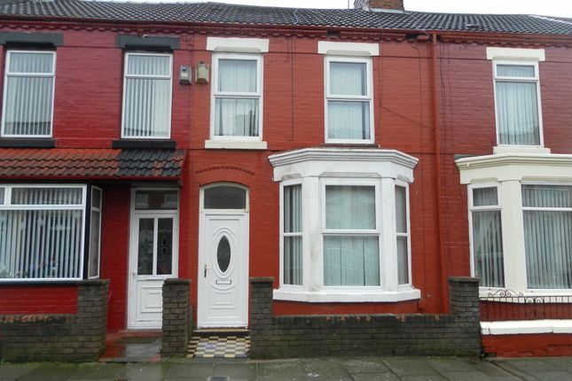 Thumbnail Terraced house to rent in Elmdale Road, Walton Vale, Liverpool, Merseyside