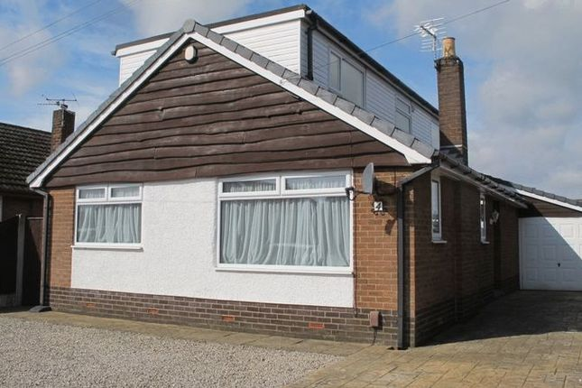 Thumbnail Detached bungalow to rent in Delany Drive, Freckleton, Preston